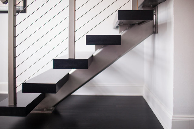 Auden Project Modern Staircase