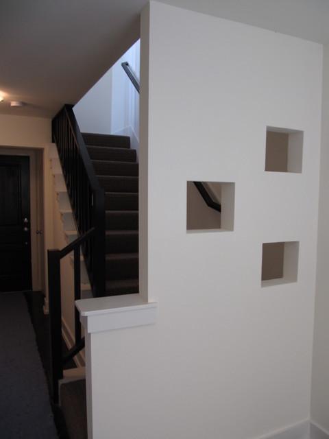 Austin & Wheeler Townhomes contemporary-staircase