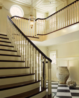 Austin Patterson Disston Architects traditional staircase
