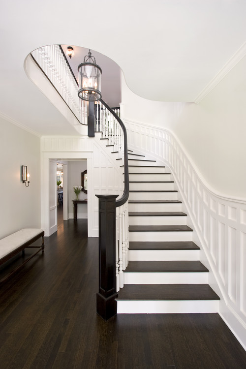 Laminate Flooring On Stairs Traditional Staircase by Maplewood Architects u0026 Building Designers Clawson  Architects, ...