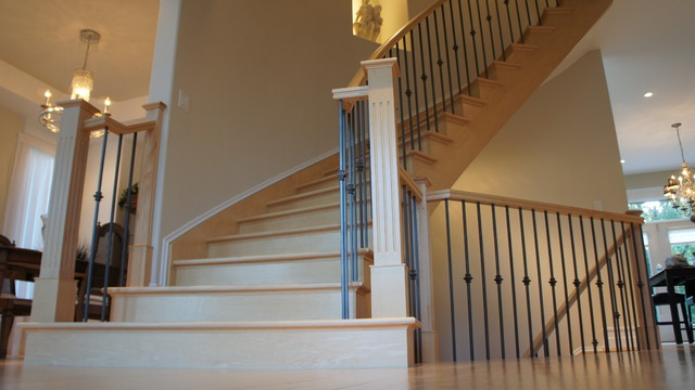 Aylmer, Quebec traditional-staircase