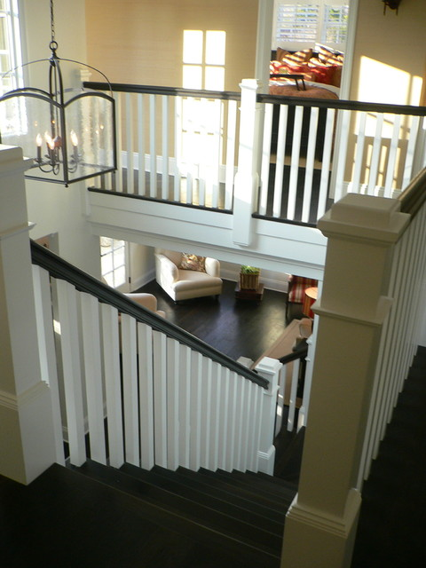 Balcony Stairs traditional-staircase