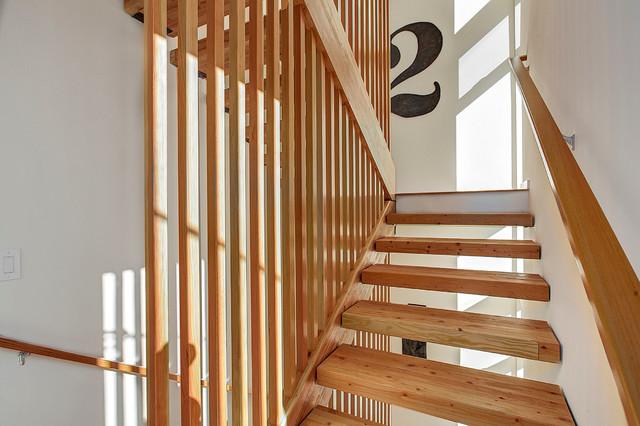 Ballard Aperture modern-staircase