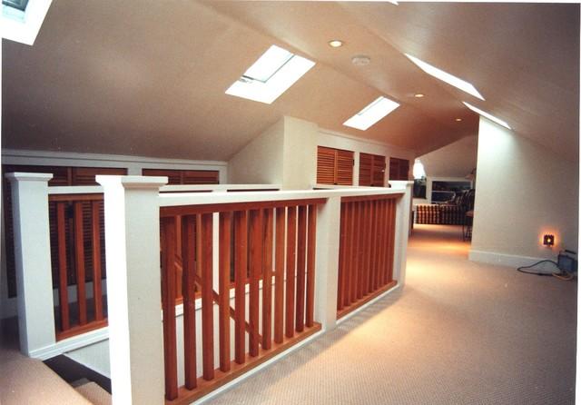 Ballard attic remodel traditional staircase seattle for Attic remodel