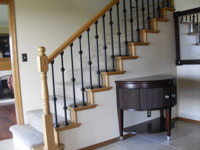 replacing stair spindles baluster replacement traditional staircase portland 1881