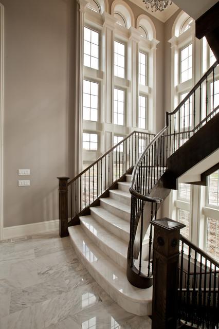 Barclay Hollywood A Contemporary Staircase Toronto