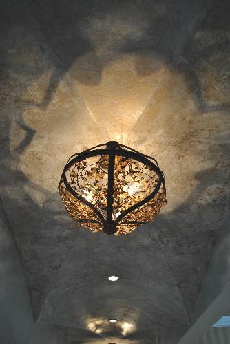 Barrel vault ceiling mediterranean