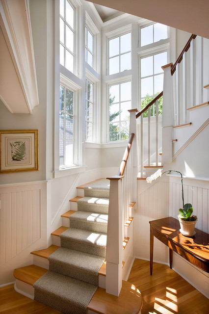 Barrington Cottage Victorian Staircase Boston By