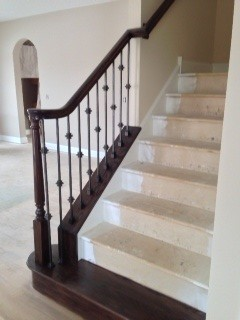 Basement stair options traditional-staircase