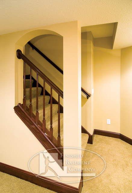 basement stairway traditional staircase minneapolis by