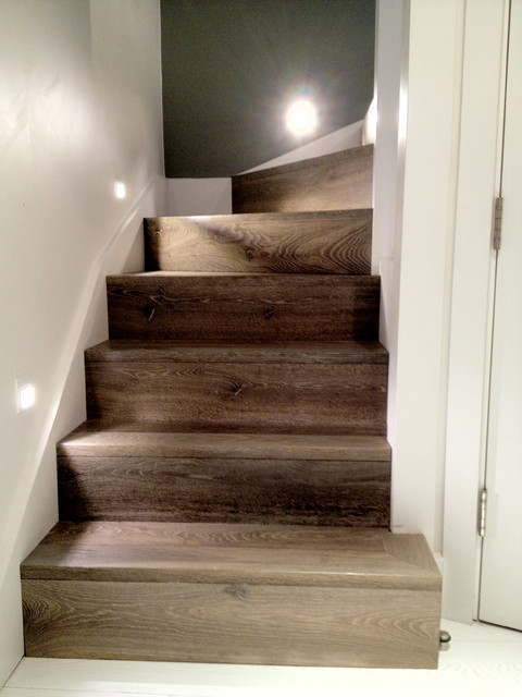 Battersea Park residence. contemporary-staircase