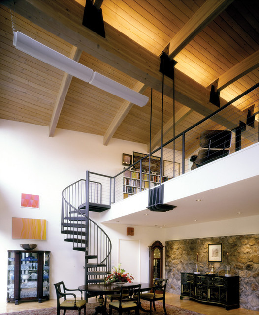 Baughman Residence eclectic-staircase