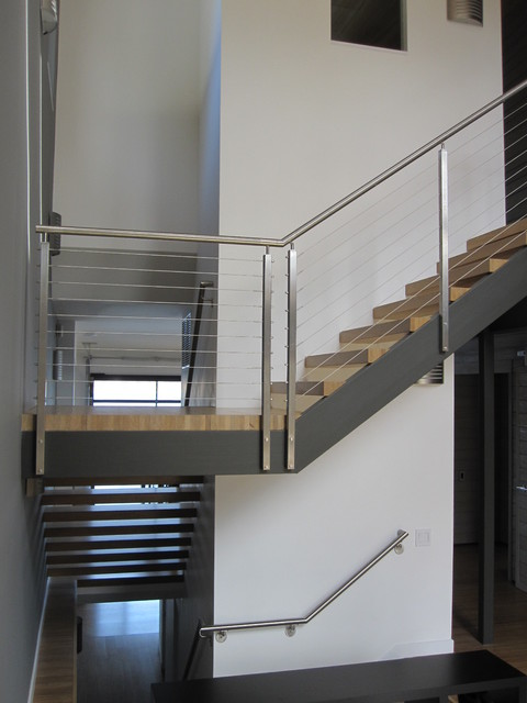 bay house modern-staircase