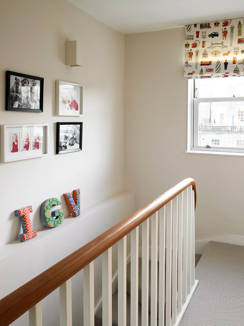 Bayswater Family Home - Contemporary - Staircase - London ... on Clare View Beige Outdoor Living Room id=63747