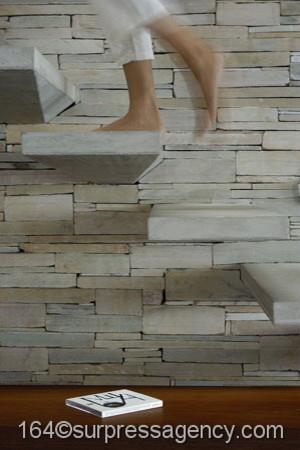 Beach House AL MARE beach-style-staircase