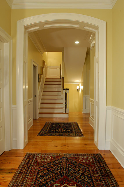 Beaufort Residence Traditional Staircase Charleston By Architrave