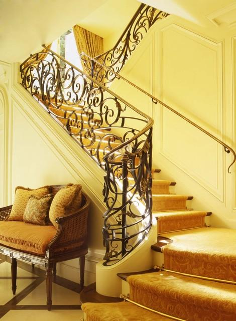 Beaux Arts Beauty mediterranean-staircase