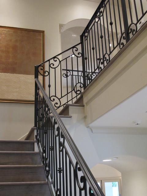 Bellaire Showcase Home Contemporary Staircase