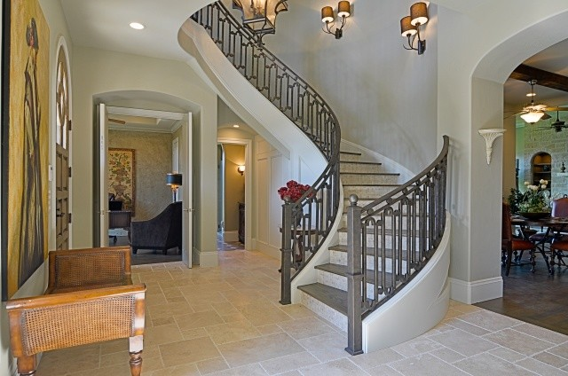 Bentley Premier Builder Available Villa traditional staircase