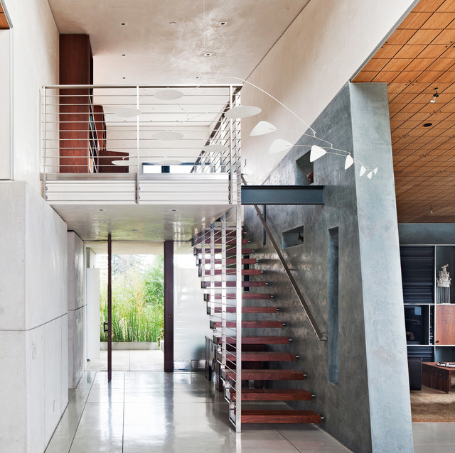 Berkeley Courtyard House Contemporary Staircase San