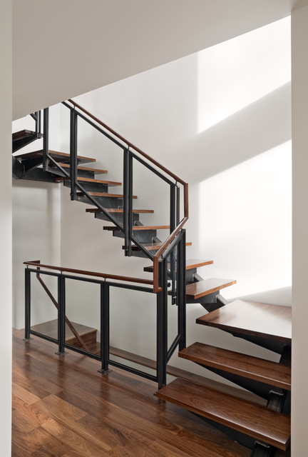 Bernal Heights Residence industrial-staircase