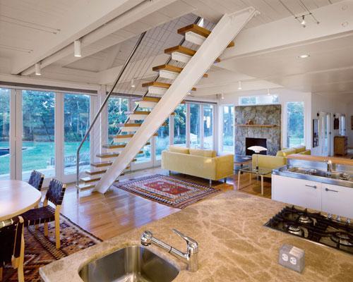 Bernard A Marson   Alpert House contemporary-staircase