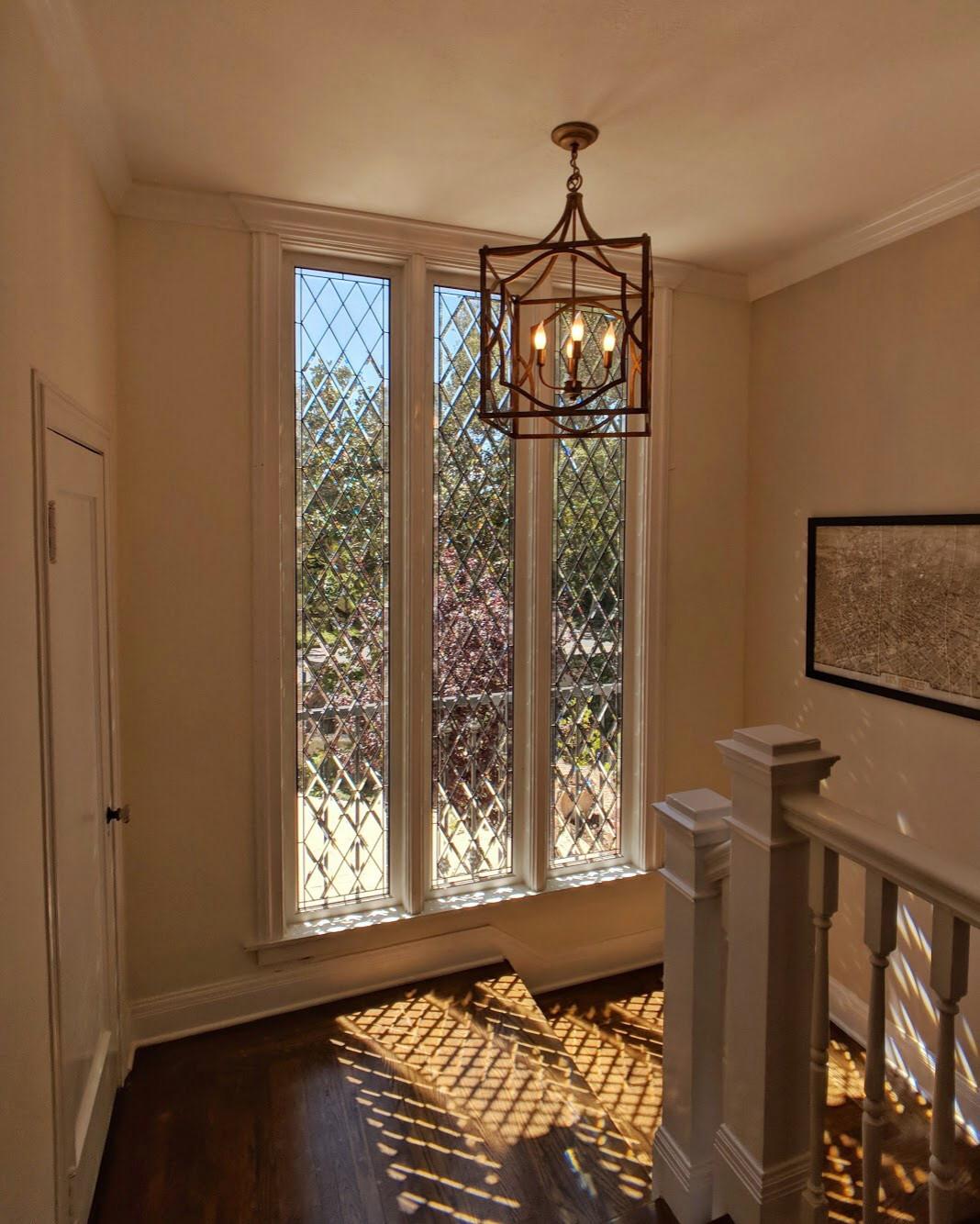 Leaded Beveled Glass Window Houzz