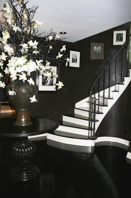 black and white palette