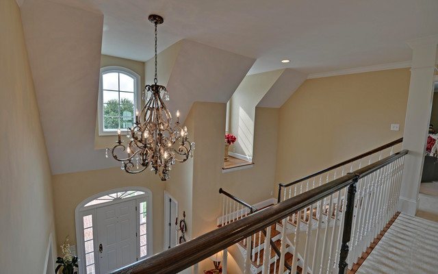 Blairsville Georgia Custom Homes traditional staircase