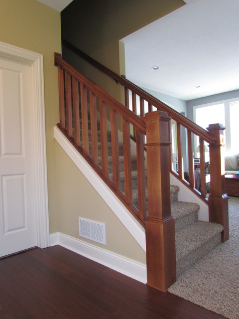 Blakely Traditional Staircase Grand Rapids By
