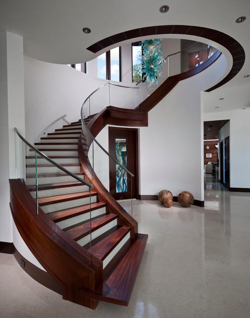 Boca Raton, FL contemporary-staircase