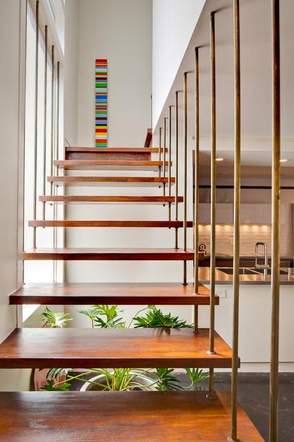 Bohdan Townhouse Modern Staircase Dallas By A