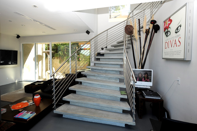 Bojanic House View contemporary-staircase