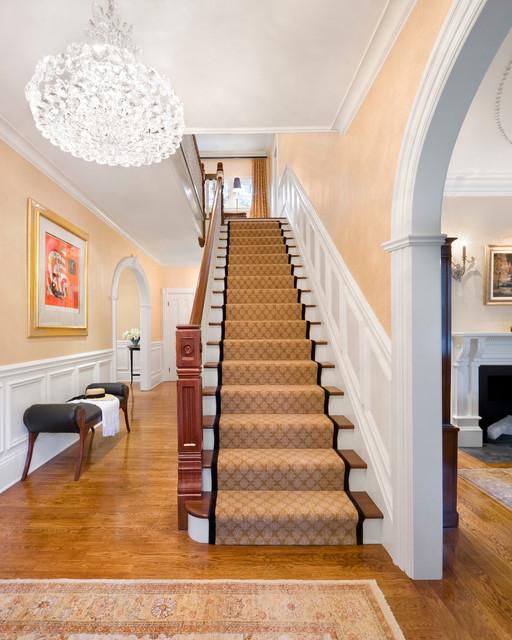 Elegant Family Home Traditional Staircase Boston