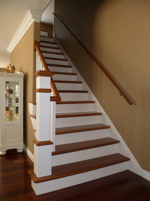 Box Newels Traditional Staircase Chicago By Stair