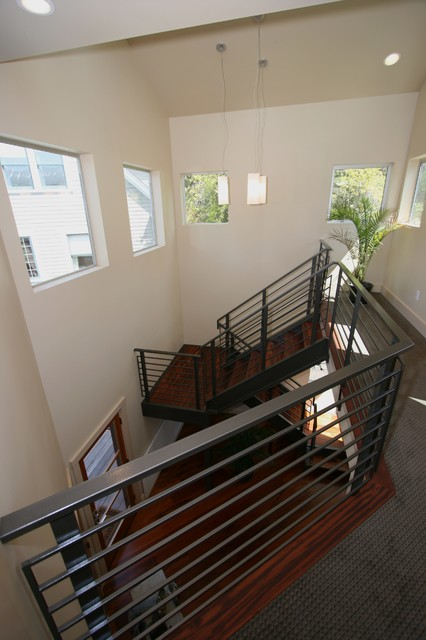 Brace Point contemporary-staircase