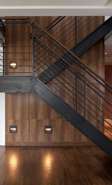 Bradley Thiergartner Interiors Modern Staircase New York