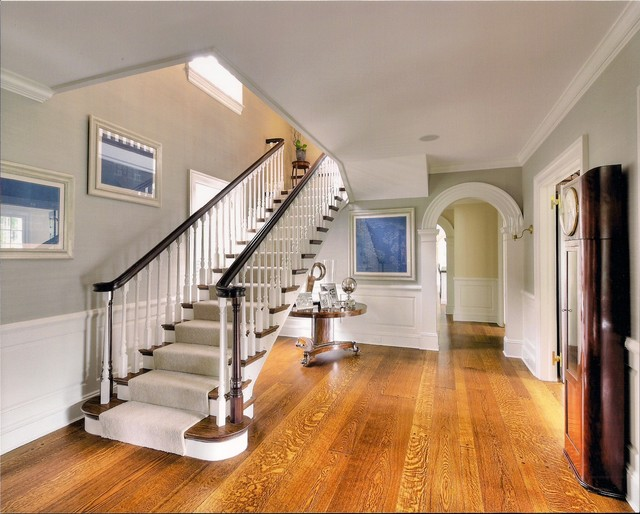 Brick georgian traditional staircase new york by for Georgian staircase design