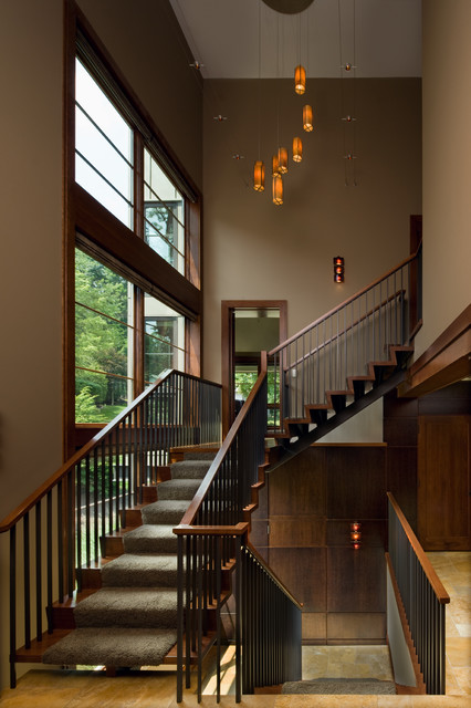 Bridge House contemporary-staircase