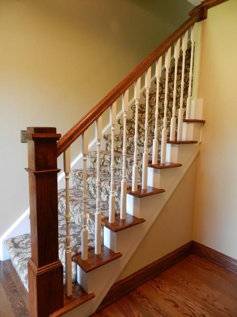 Brighton Kitchen traditional-staircase