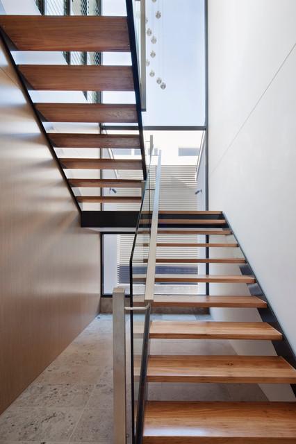 Brighton Residence modern-staircase