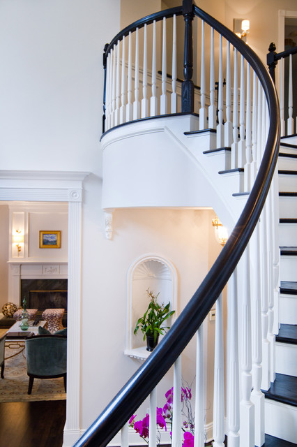 British Colonial by Charmean Neithart - traditional - staircase ...