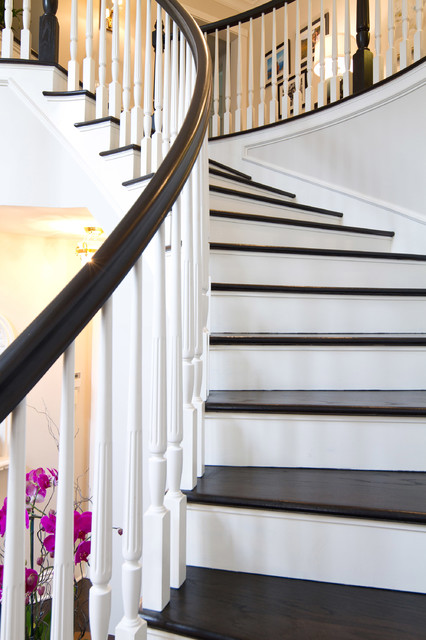 British Colonial in Pasadena - traditional - staircase - los ...