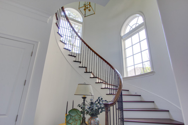 Broad Oaks transitional-staircase