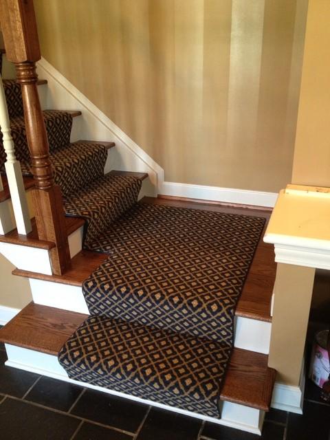 Broadloom Fabrication traditional-staircase