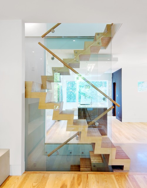 Broadview-Danforth House contemporary-staircase