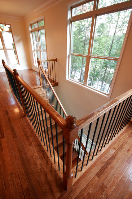 Broadwater Court - Lake Arrowhead, GA traditional-staircase