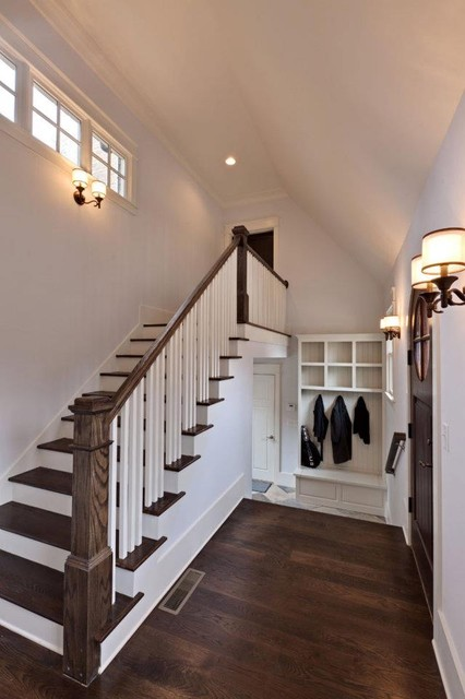 small garage loft ideas - Brookhaven Custom Home Contemporary Tudor Traditional