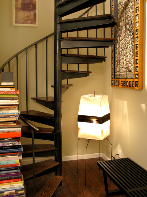 Brooklyn Duplex eclectic-staircase