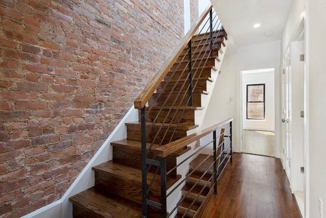Brooklyn Townhouse 1 Transitional Staircase New York
